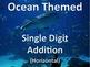 Single Digit Addition and Subtraction Worksheet Bundle - O