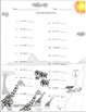 Single Digit Addition - African Safari Themed Worksheets - 15 pages (horizontal)