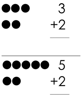 Single Digit Addition with Dots