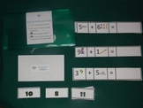 Single Digit Addition with pictures Math Center- Hard Good