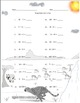 Single Digit Subtraction - Safari Themed Worksheets - 15 pages Horizontal