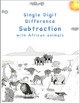 Single Digit Subtraction - Safari Themed Worksheets - 15 p