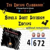 Single Digit Division Escape Room   The Escape Classroom