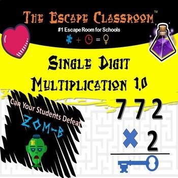 Single Digit Multiplication Escape Classroom