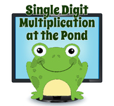 SmartBoard Single Digit Multiplication Interactive Math Game