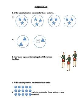 Single Digit Multiplication Quiz/Test