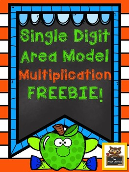 Single Digit Partial Product FREEBIE!