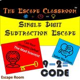 Single Digit Subtraction Escape Room   The Escape Classroom