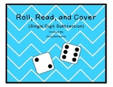 Subtraction Facts Game (Roll, Read, and Cover)