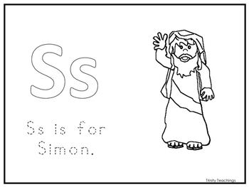 Single Disciple Simon Worksheet. Preschool-Kindergarten Bible Study.