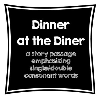 Single/Double Consonants with Long/Short Vowel Passage and Flash Cards