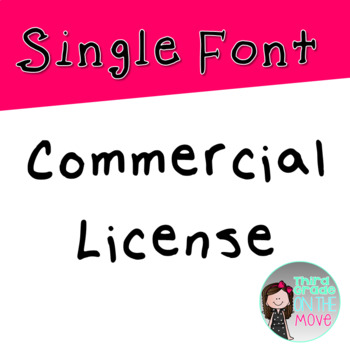 Single Font License