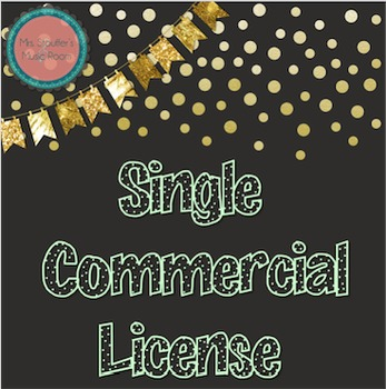 Single Font License for Commercial Use