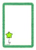 Single Green Balloon Worksheet