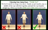Single Jump Roping in PE - Floor Rope Skill Progression and Intro to Jump Rope
