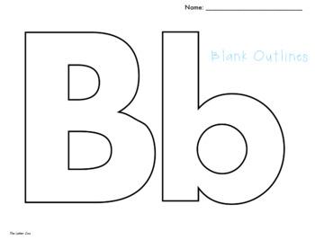 Single Letter Outline Files