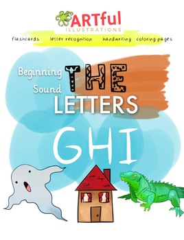 Single Letter Sounds - GHI