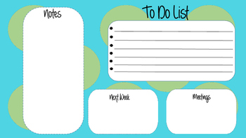 Single Planner/ Agenda Page