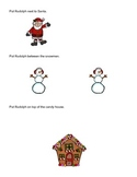 Single Step Christmas Spatial Concept Directions