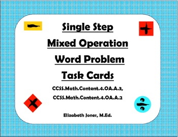 mixed operation word problems pdf
