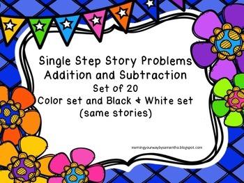 Single Step Story Problems