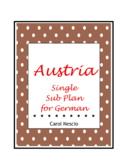 Single Sub * Plan 13 For German