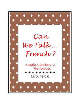 Single Sub * Plan 2 For French