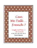 Single Sub * Plan 2 For French ~ Can we talk - French ?