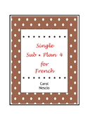 Single Sub * Plan 4 For French ~ Regardez bien !