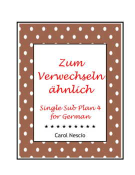 Single Sub * Plan 4 For German