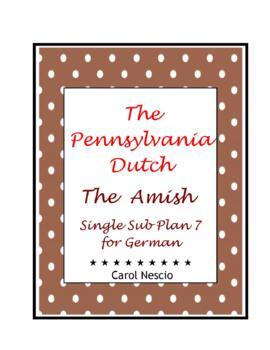 Single Sub * Plan 7 For German