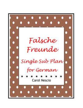 Single Sub * Plan 8 For German