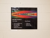 Single Tasking Zone Poster