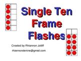 Single Ten Frame Flashes