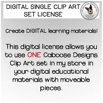 Single Use Digital Clip Art License