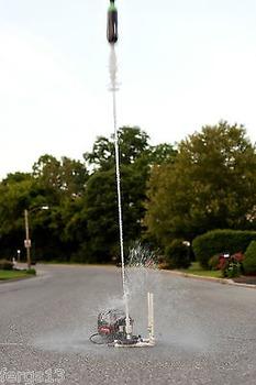 Single Water Rocket Launcher Plans