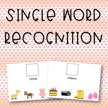 Single Word Recognition