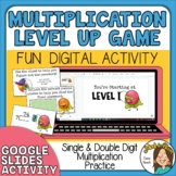 Single and Double Digit Multiplication Practice Level Up