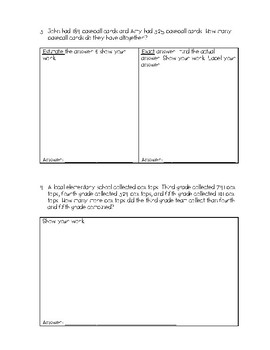 Single and Multi-Step Addition and Subtraction Word Problems