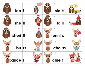 Single or Double? Final Consonant Sort and Game