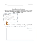 Single step word problems up to 20
