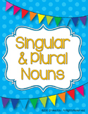 Singular And Plural Nouns {Common Core Aligned}