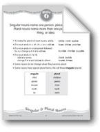 Singular & Plural Nouns