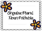 Singular/Plural Nouns Foldable
