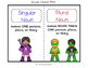 Singular & Plural Nouns Foldable and Activities