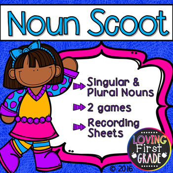 Singular & Plural Nouns Scoot