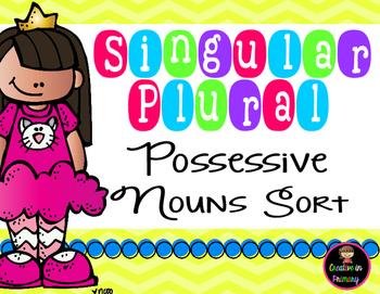 Singular Plural Possessive Noun Sort