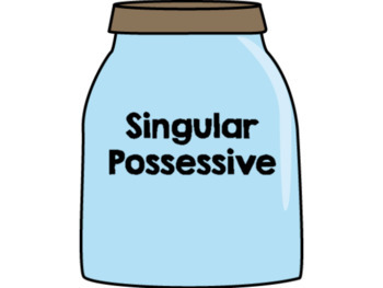 Singular/Plural Possessive Nouns Cookie Sort Game