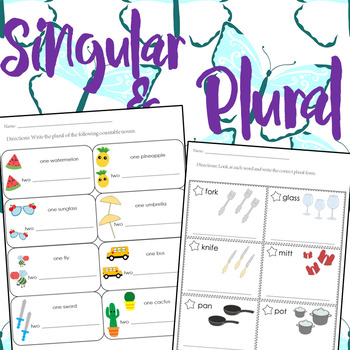 Singular & Plural Print & Go