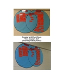 Singular, Plural, and Irregular Plural Noun Venn Diagram Cards